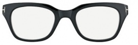 Tom Ford FT5240 Eyeglasses Eyeglasses - 001 Shiny Black