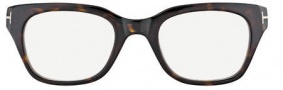 Tom Ford FT5240 Eyeglasses Eyeglasses - 052 Dark Havana