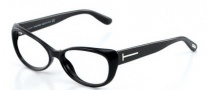Tom Ford FT5263 Eyeglasses Eyeglasses - 001 Shiny Black