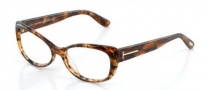 Tom Ford FT5263 Eyeglasses Eyeglasses - 052 Dark Havana