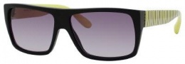 Marc by Marc Jacobs MMJ 096/N/S Sunglasses Sunglasses - 0V0Q Black Green (EU Gray Gradient Lens)