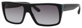 Marc by Marc Jacobs MMJ 096/N/S Sunglasses Sunglasses - 029A Shiny Black (PT Gray Gradient Lens)