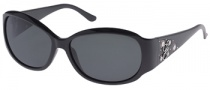 Guess GU 7036 Sunglasses Sunglasses - BLK-3: Black