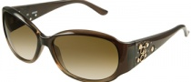Guess GU 7036 Sunglasses Sunglasses - BRN-34: Drk Transparent Brown