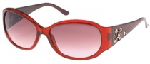 Guess GU 7036 Sunglasses Sunglasses - BU-52: Trnslcnt Burgundy