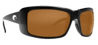 Costa Del Mar Cheeca Sunglasses Black Frame Sunglasses - Dark Amber / 400G