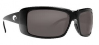 Costa Del Mar Cheeca Sunglasses Black Frame Sunglasses - Dark Gray / 400G