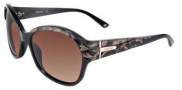 Bebe BB 7039 Sunglasses Sunglasses - Brown Marble