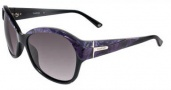 Bebe BB 7039 Sunglasses Sunglasses - Purple Marble