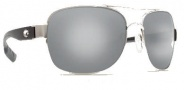 Costa Del Mar Cocos Sunglasses Palladium Frame Sunglasses - Silver Mirror / 580G
