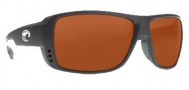 Costa Del Mar Double Haul Sunglasses Black Frame Sunglasses - Copper / 580P