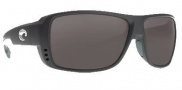 Costa Del Mar Double Haul Sunglasses Black Frame Sunglasses - Gray / 580P