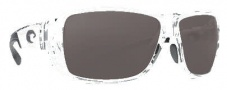 Costa Del Mar Double Haul Sunglasses Crystal Frame Sunglasses - Gray / 580P