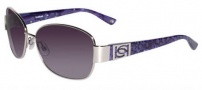 Bebe BB 7054 Sunglasses Sunglasses - Silver