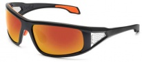 Bolle Diablo Sunglasses Sunglasses - 11555 Shiny Black / TNS Fire