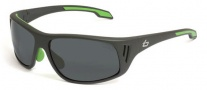Bolle Rainier Sunglasses Sunglasses - 11547 Satin Dark Gray / TNS