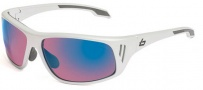 Bolle Rainier Sunglasses Sunglasses - 11551 Holographic Silver / Rose Blue