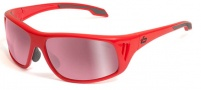 Bolle Rainier Sunglasses Sunglasses - 11550 Shiny Red / Photo Rose Gun