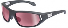 Bolle Cervin Sunglasses Sunglasses - 11589 Satin Dark Gray / Photo Rose Gun