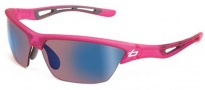 Bolle Tempest Sunglasses Sunglasses - 11485 Satin Crystal Pink / Rose Blue