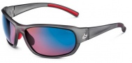 Bolle Bounty Sunglasses Sunglasses - 11534 Satin Crystal Gray / Rose Blue