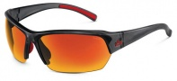 Bolle Ransom Sunglasses  Sunglasses - 11529 Satin Crystal Gray / TNS Fire