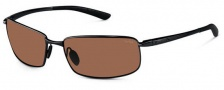 Bolle Benton Sunglasses Sunglasses - 11566 Satin Black / Polarized A-14