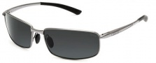Bolle Benton Sunglasses Sunglasses - 11565 Shiny Gunmetal / Polarized TNS