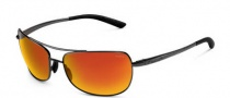 Bolle Quindaro Sunglasses Sunglasses - 11574 Satin Black / Polarized TNS Fire