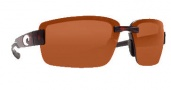 Costa Del Mar Galveston Sunglasses - Tortoise Frame Sunglasses - Copper / 580P