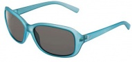 Bolle Molly Sunglasses Sunglasses - 11514 Satin Crystal Blue / TNS
