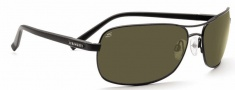 Serengeti Rimini Sunglasses Sunglasses - 7675 Satin Matte Black / Polar PHD 555NM