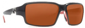 Costa Del Mar Peninsula Sunglasses - Black Coral Frame Sunglasses - Copper / 580P