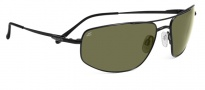 Serengeti Levanto Sunglasses Sunglasses - 7586 Satin Black / 555NM Polarized 