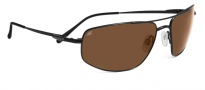 Serengeti Levanto Sunglasses Sunglasses - 7585 Satin Back / Drivers Polarized 
