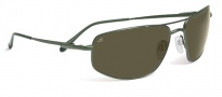 Serengeti Levanto Sunglasses Sunglasses - 7589 Satin Racing Green / 555NM Polarized 