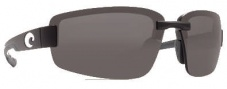 Costa Del Mar Seadrift Sunglasses - Black Frame Sunglasses - Gray / 580P