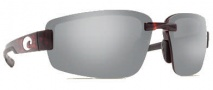 Costa Del Mar Seadrift Sunglasses - Tortoise Frame Sunglasses - Silver Mirror / 580P