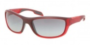 Prada Sport PS 04NS Sunglasses Sunglasses - JAM3M1 Bordeaux / Gray Gradient