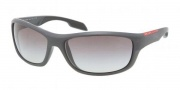 Prada Sport PS 04NS Sunglasses Sunglasses - JAO0A7 Gray Sand / Gray Gradient