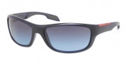 Prada Sport PS 04NS Sunglasses Sunglasses - MAB5I1 Baltic Blue / Blue Smoke Gradient