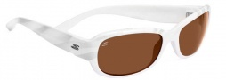 Serengeti Chloe Sunglasses Sunglasses - 7626 Shiny Silver / Zebra Drivers