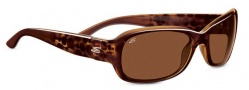 Serengeti Chloe Sunglasses Sunglasses - 7625 Shiny Bubble Tortoise / Drivers Polarized