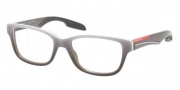 Prada Sport PS 06CV Eyeglasses Eyeglasses - JAQ1O1 Gray Gradient