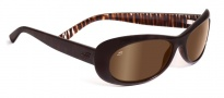Serengeti Bella Sunglasses Sunglasses - 7630 Bronze Zebra / Drivers Gold Polarized