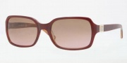 Anne Klein AK3177 Sunglasses Sunglasses - 276/76 Burgundy Amber Horn / Brown Rose Gradient