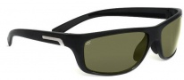 Serengeti Assisi Sunglasses Sunglasses - 7615 Shiny Black / Polar PHD 555NM