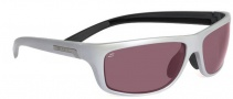 Serengeti Assisi Sunglasses Sunglasses - 7611 Silver Pearl Black / Polar PHD Sedona