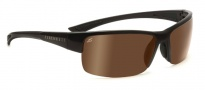 Serengeti Corrente Sunglasses Sunglasses - 7698 Shiny Crystal Cognac / Satin Dark Brown / Polar PHD Drivers Gold