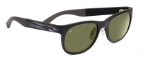Serengeti Milano Sunglasses Sunglasses - 7658 Metallic Stripe / 555NM